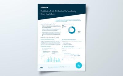 Portfolio-Tool: Einfache Verwaltung Ihrer Darlehen