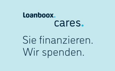 Loanboox.cares. You take out a loan. We make a donation.