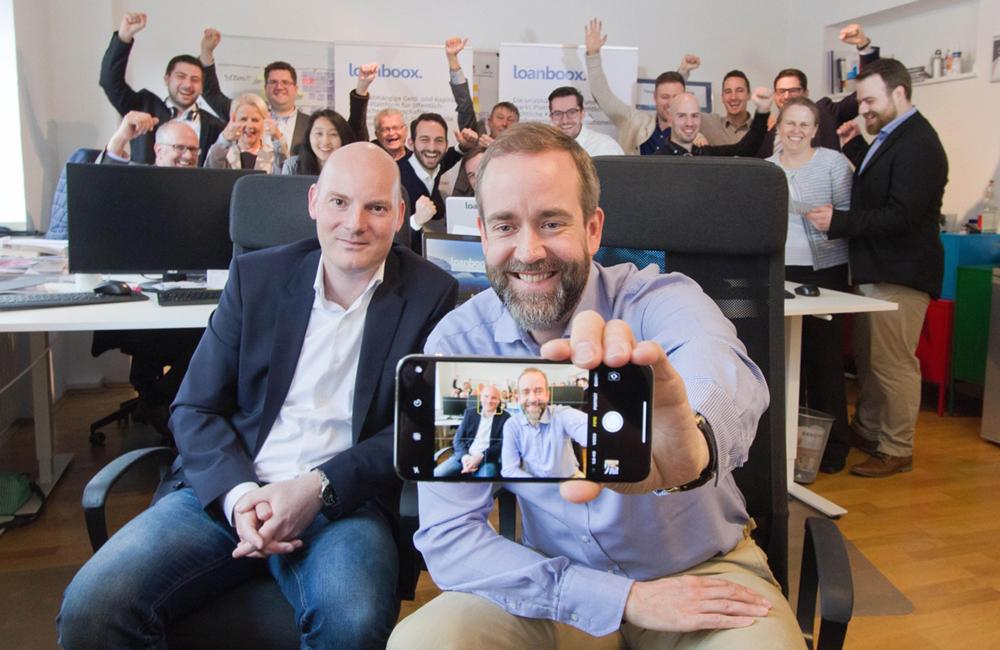 Team-Selfie Deutschland